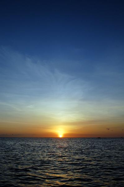 Boracay長灘島遊記照片  sunset-12.JPG