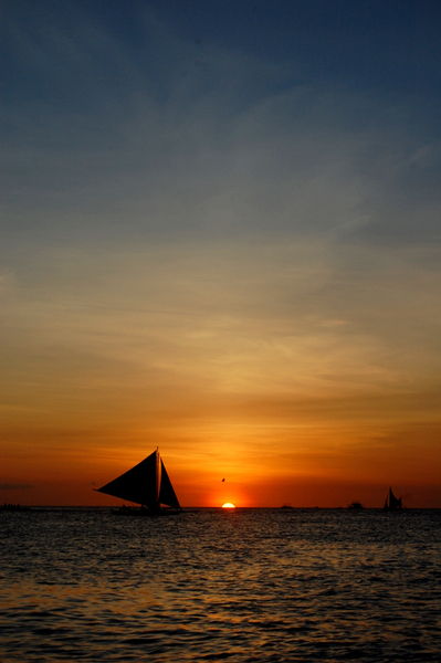 Boracay長灘島遊記照片  sunset-15.JPG
