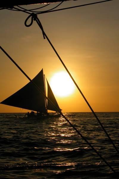 [Boracay長灘島遊記] 坐著風帆上看夕陽