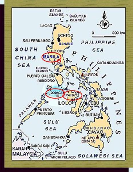 菲律賓地圖
