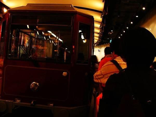 香港太平山纜車等車處