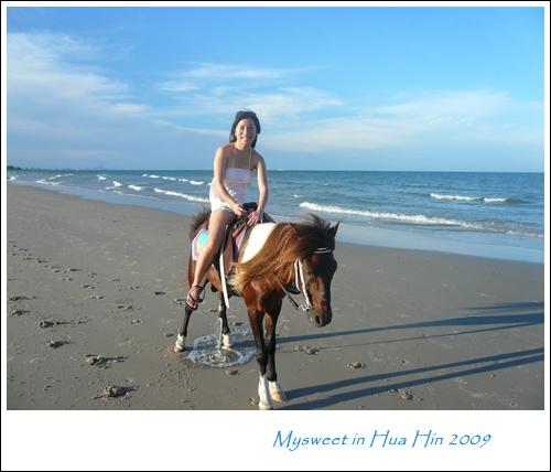 Hua Hin 華欣Let's Sea沙灘騎馬