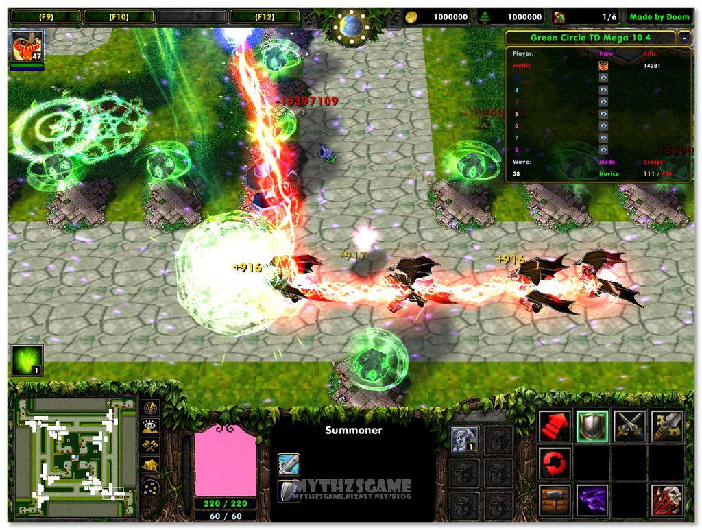 Green Circle TD Mega 10.4