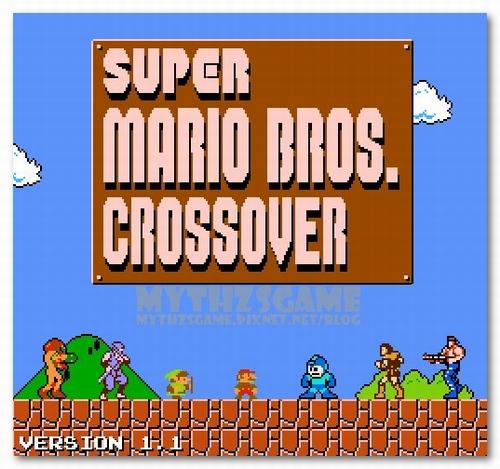 Super Mario Bros.  Crossover 1.1