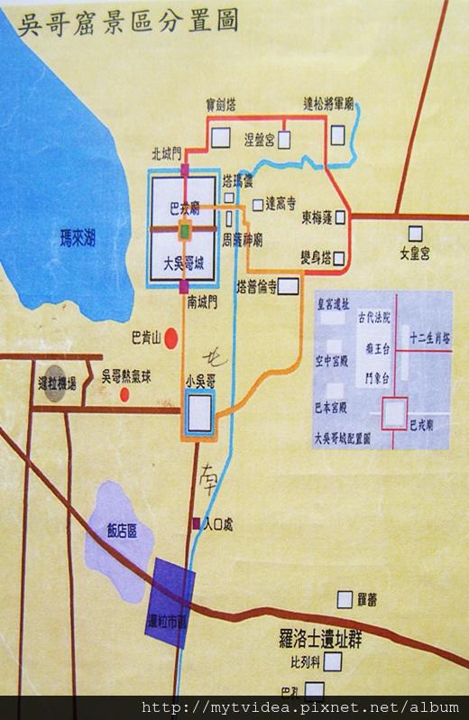 2-1吳哥窟景區地圖