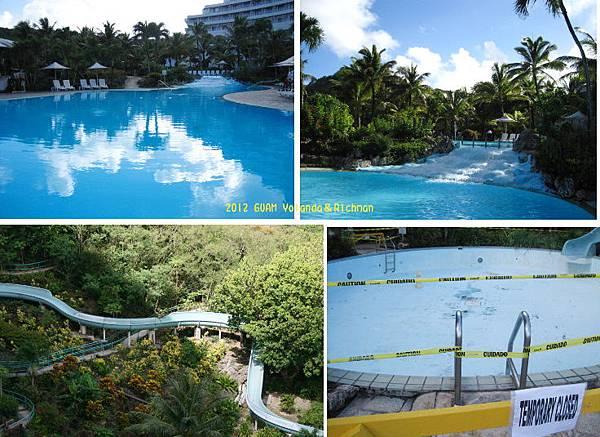 飯店內游泳池