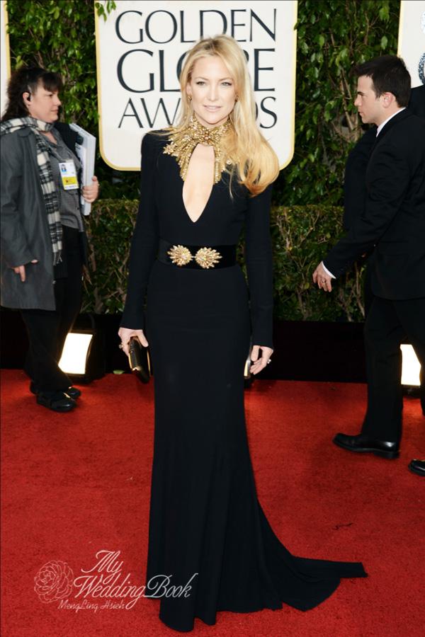 Kate Hudson_Alexander McQueen_2013_Golden Globe