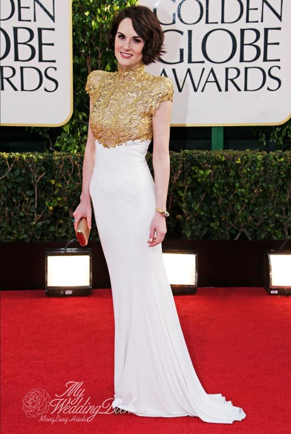 Michelle Dockery_Alexandre Vauthier Haute Couture_2013_Golden Globe