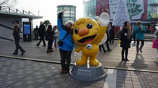 這是首爾的吉祥物~??????我忘叫啥