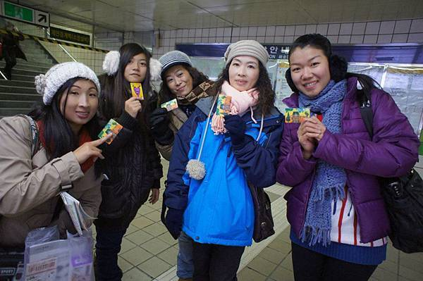 首爾地鐵初體驗