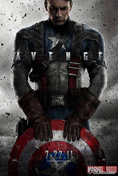 美國隊長(Captain America: The First Avenger)