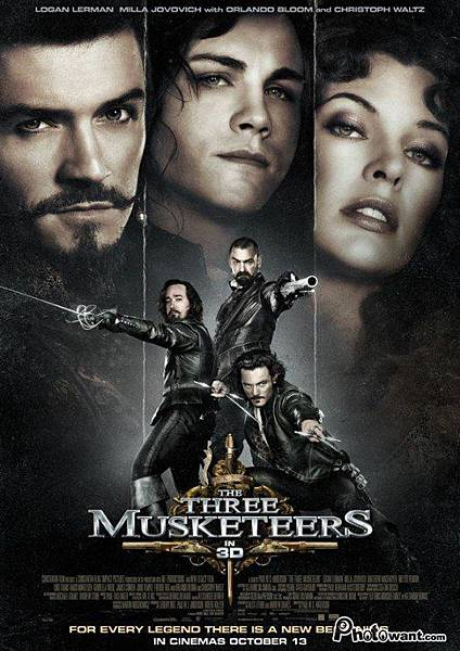 3D劍客聯盟:雲端之戰 (The Three Musketeers 3D)