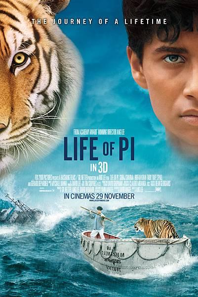 少年Pi的奇幻漂流 (Life of Pi) Nov.2012