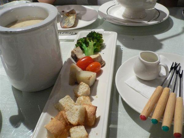 白醬起士焗野菇