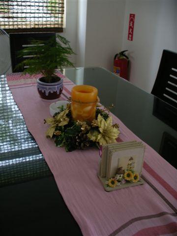 典雅的餐桌