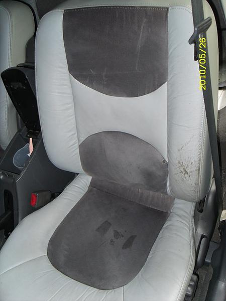 汽車皮椅烤漆前照片.JPG