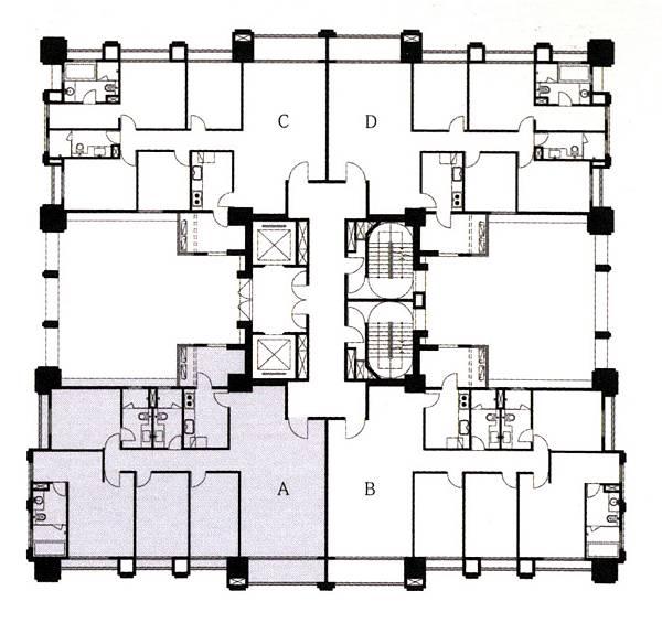 雲鼎(全)_標準層平面圖