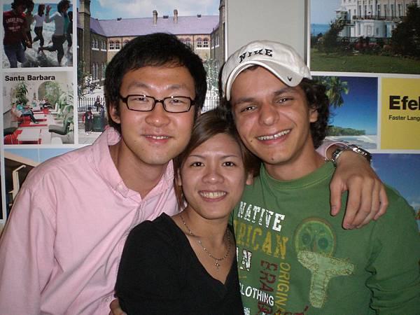 韓國和中南美洲的同學
