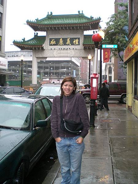 Boston的China Town!
