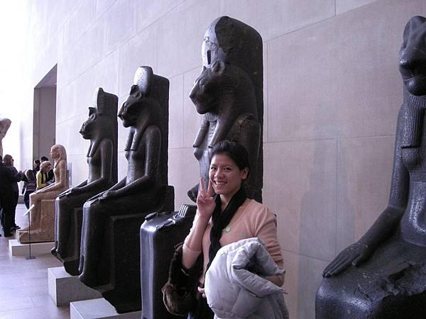 大都會展出古埃及文明,比之前故宮展的還精采許多喔,必來參觀!
