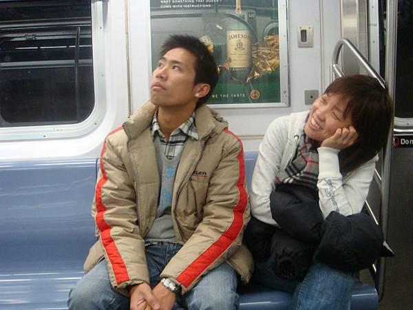 地鐵的藝術照