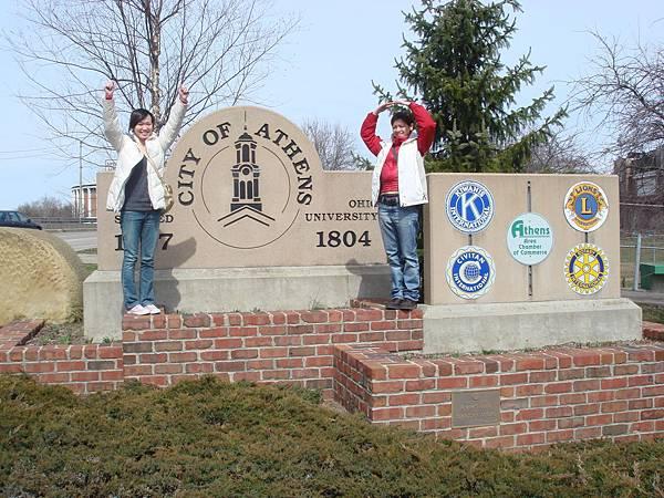 OU的學校招牌,觀光客必照之景點~