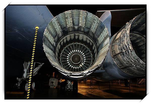 超大的飛機渦輪
