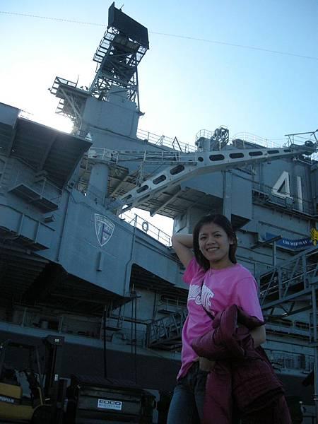Day2-seaport:軍艦博物館,超貴滴,還是在外面照像就好了