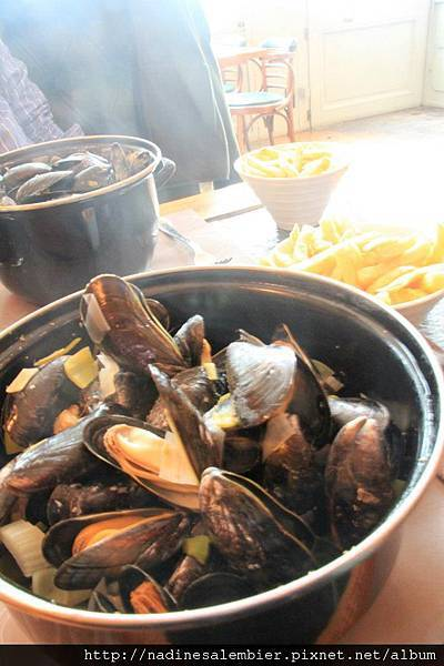 比利時必吃美食 - 淡菜 ,Belgium food - mussel