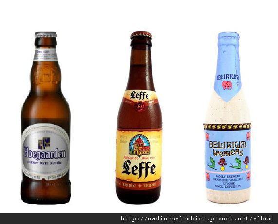 比利時必吃美食 : 比利時啤酒- 豪格登、萊佛、迪力三麥金(大象啤酒),belgium beer - Hoegaarden、Leffe、Tremens