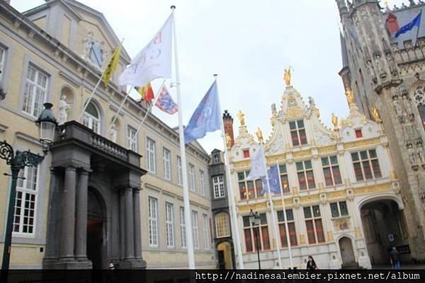 比利時Belgium 布魯日Brugge - 前民事登記處(Grote Burg, Oude Griffie - Bruges/Brugge)