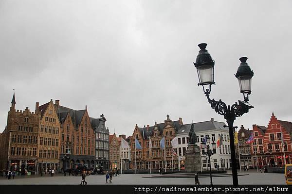 比利時Belgium 布魯日Brugge- 市集廣場Markt