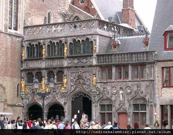 比利時Belgium 布魯日Brugge 城堡廣場 - 聖血聖殿(Grote Burg, Heilig Bloedbasiliek - Bruges/Brugge)