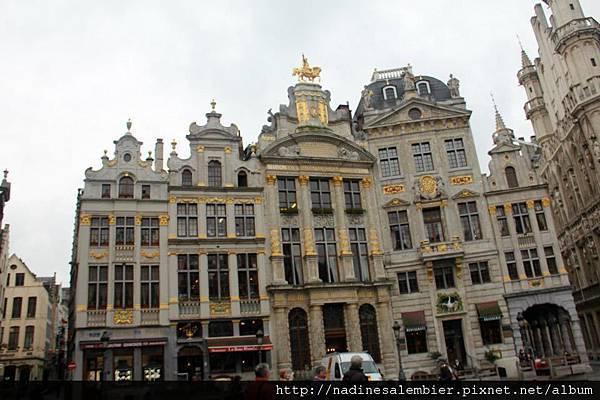 比利時布魯塞爾大廣場Grand Place,Grote Markt , Grand Place - (恆溫街Rue de L'Etuve橡樹街Rue du Chene  Brussels,Bruxelles)