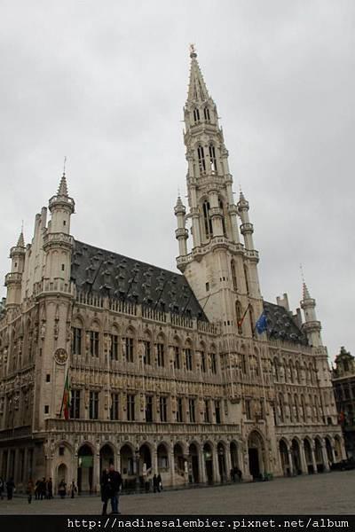 比利時布魯塞爾大廣場Grand Place,Grote Markt , Grand Place – 市政廳Town Hall,Stadhuis, Hôtel de Ville Brussels,Bruxelles