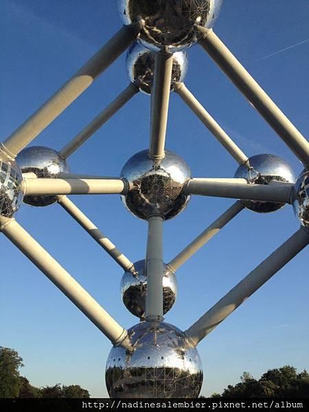 比利時布魯塞爾Brussels,Bruxelles原子塔Atomium