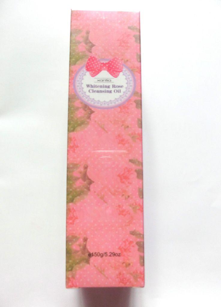 Xantia桑緹亞.玫瑰淨白保濕卸妝油