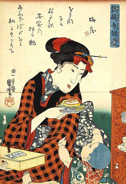 縞揃女弁慶 松の鮨.jpg