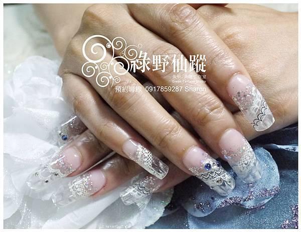 【水晶指甲】20110608 許小姐透明琉璃水晶.jpg