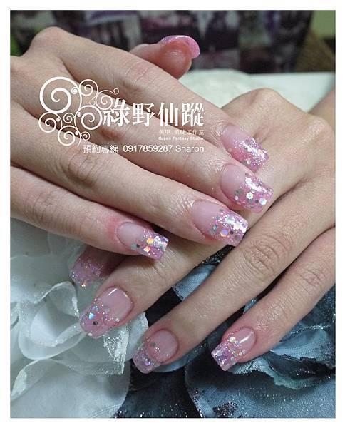 【水晶指甲】20110610 vivian 璀璨水晶.jpg