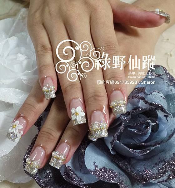 20110622妹妹-璀璨水晶指甲+雕花.jpg