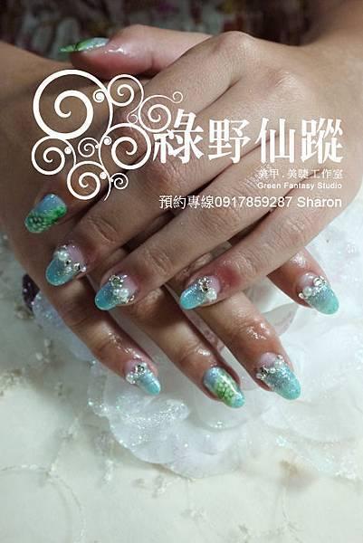 【光療指甲】20110717 夏日指定款.jpg