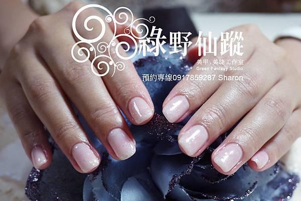 【光療指甲】20110718奶茶-好感系裸色光療指甲.jpg