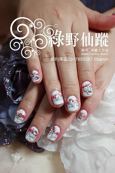 【光療指甲】20110719小于-雜誌款光療.jpg