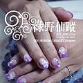 【光療指甲】20110723黃小姐-璀璨光療+雕花.jpg