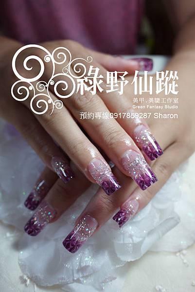 【水晶指甲】20110724趙小姐-琉璃水晶.jpg