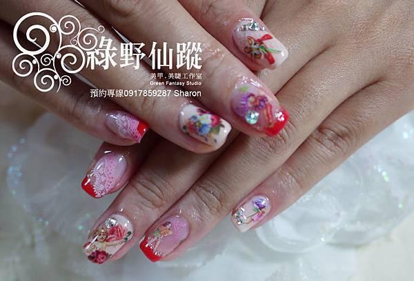 【光療指甲】20110730林小姐-單色光療01.jpg