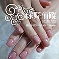【光療指甲】20110817-乃馨 好美的奶茶色光療指甲.jpg