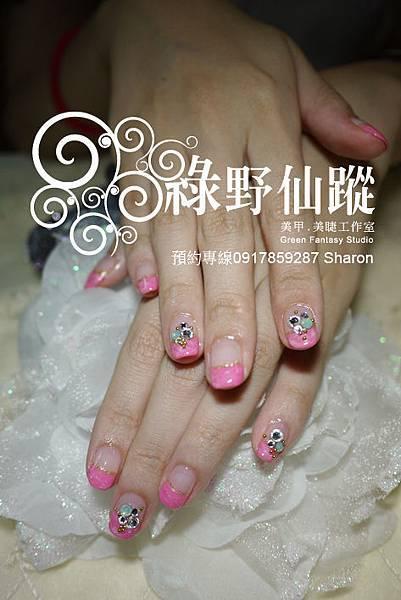 【光療指甲】20110831-大理石光療指甲.jpg
