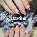 【光療指甲】20110905-小香 反法式羽毛光療指甲-2.jpg